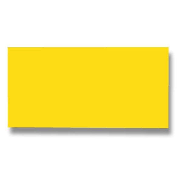 Barevná dopisní karta Clairefontaine žlutá, DL