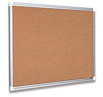 Korková tabule v hliníkovém rámu.Bi-Office New Generation Maya