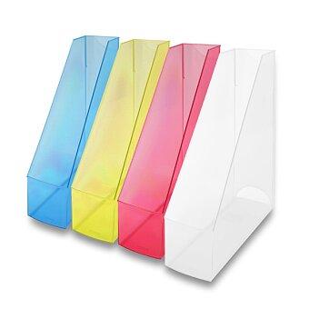 Obrázek produktu Otevřený archivační box Helit Economy transparent - pro formát A4, výběr barev