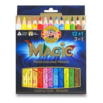Obrázek produktu Pastelky Koh-i-noor Magic 3408 - 12 barev + blender