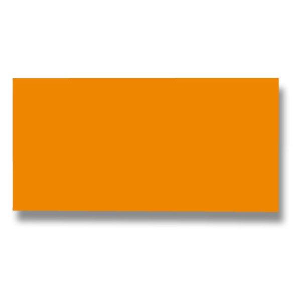 Barevná dopisní karta Clairefontaine tm. oranžová, DL