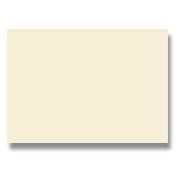 Barevná dopisní karta Clairefontaine krémová, A4