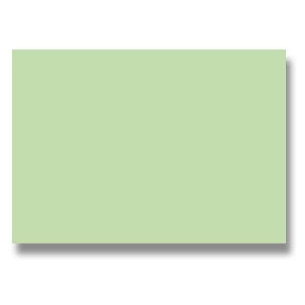 Barevná dopisní karta Clairefontaine světle zelená, A4