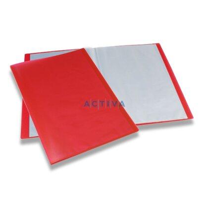 Obrázek produktu Foldermate Display Book - katalogová kniha - 10 kapes, červená