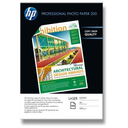 Obrázok produktu HP Laser Photo Paper - fotografický papier - A4, 200 g, 100 listov, lesklý