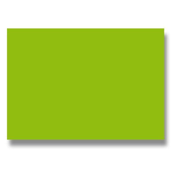 Barevná dopisní karta Clairefontaine zelená, A4