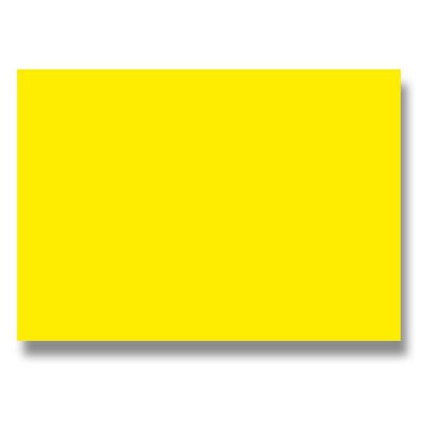Barevná dopisní karta Clairefontaine žlutá, A4