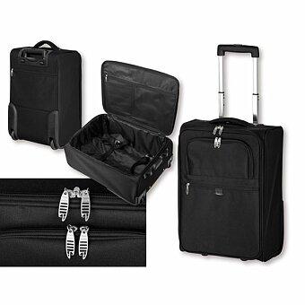 Obrázek produktu SANTINI THORVALD - polyesterový kufr na kolečkách, 600D, černá
