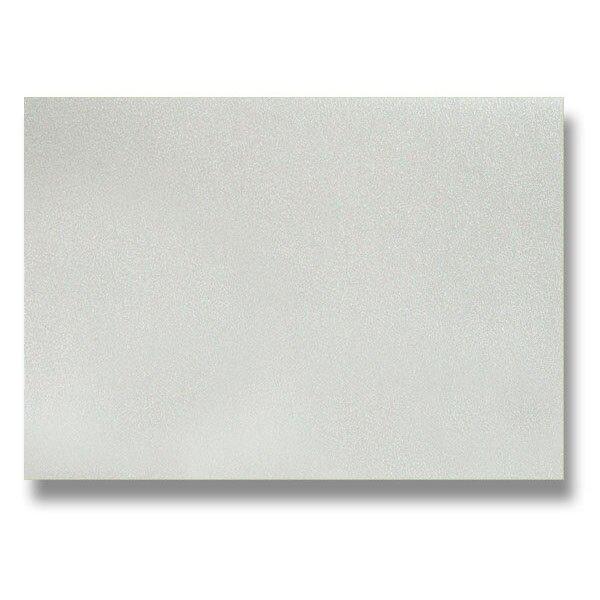 Barevná dopisní karta Clairefontaine stříbrná, A4