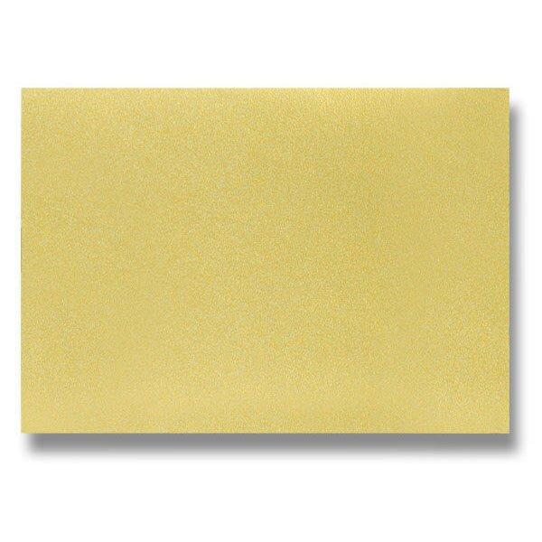 Barevná dopisní karta Clairefontaine zlatá, A4