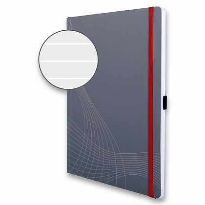 Obrázek produktu Avery Zweckform Notizio - poznámkový blok - A4, 80 l., linkovaný
