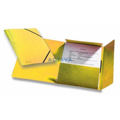 Obrázek produktu Esselte Rainbow - prešpánové desky - žluté