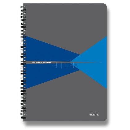 Obrázok produktu Leitz Office - krúžkový blok - A5, 90 listov, linajkový, modrý