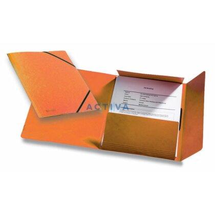 Obrázek produktu Esselte Rainbow - prešpánové desky - oranžové