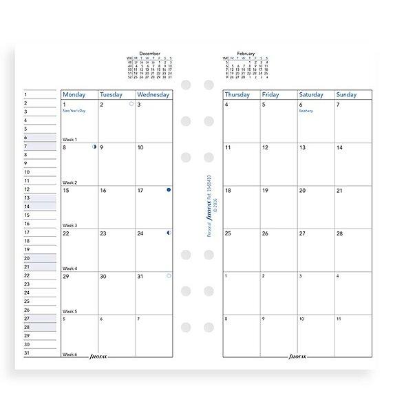 Velký péro kalendář