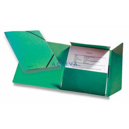 Obrázek produktu Esselte Rainbow - prešpánové desky - zelené