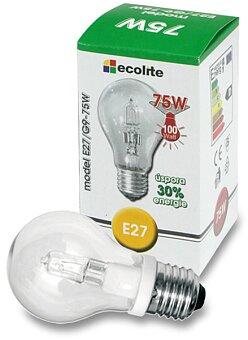 Obrázek produktu Halogenová čirá žárovka Ecolite - 75 W (100 W)
