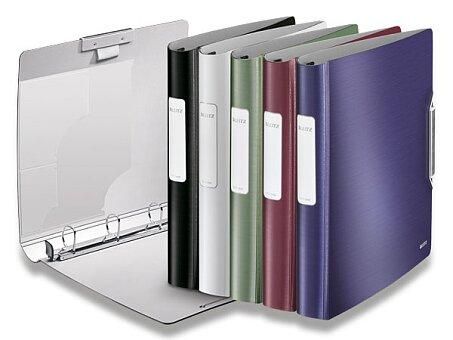 Obrázek produktu 4-kroužkový pořadač Leitz Style - plast, A4, 52 mm, výběr barev