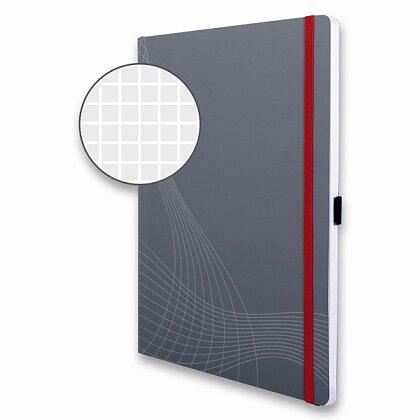 Obrázek produktu Avery Zweckform Notizio - poznámkový blok - A4, 80 l., čtverečkovaný