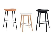 Barová židle Muuto Fiber Bar Stool