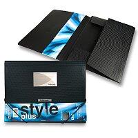Tříchlopňové desky s gumou FolderMate Style Plus