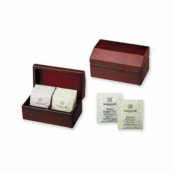 Obrázek produktu SONNENTOR STEAM - sada čajů Sonnentor 2 x 8 ks v dřevěné krabici
