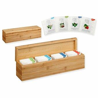Obrázek produktu PAYTON - sada čajů BIOGENA 4 x 10 ks v bambusové krabičce