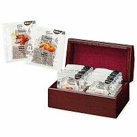 KENDRA - sada čajů BIOGENA 2 x 10 ks v dřevěné krabici