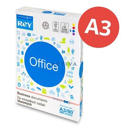 Obrázek produktu Rey Office - xerografický papír - A3, 80 g, 500 listů
