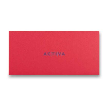 Obrázek produktu Clairefontaine - obálka - DL, samolepicí, 20 ks, červená