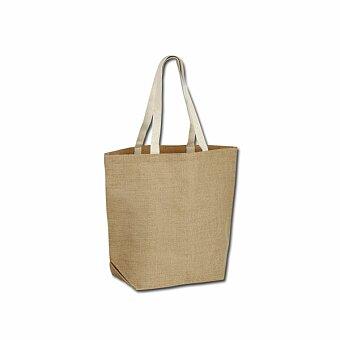 Obrázek produktu TIZZY - jutová nákupní taška přes rameno, přírodní