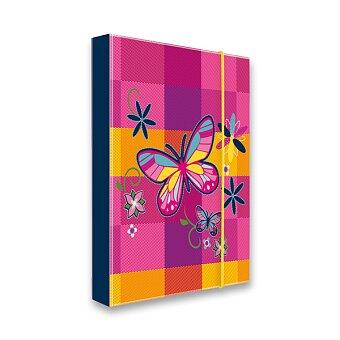 Obrázek produktu Box na sešity Motýl - A5