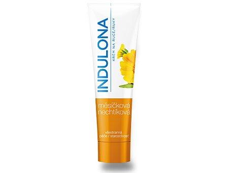 Obrázek produktu Krém na ruce Indulona - měsíčková (oranžová), 85 ml