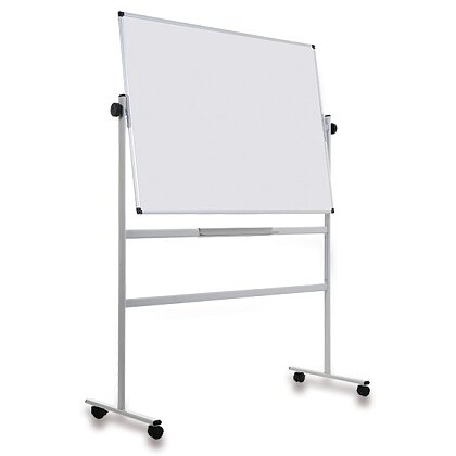 Obrázek produktu Bi-Office - bílá mobilní magnetická tabule - 150 x 100 cm