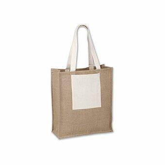 Obrázek produktu SINTA - jutová nákupní taška přes rameno, přírodní