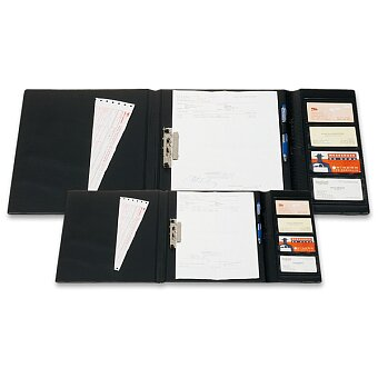 Obrázek produktu Uzavíratelné složky pro řidiče PP Karton - A4 nebo A5