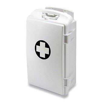 Obrázek produktu Přenosná lékárnička plastová - 430 x 280 x 140 mm, bez náplně
