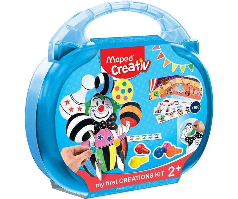 Kreativní sada obsahuje speciální voskovky a je vhodná už pro děti od 2 let
