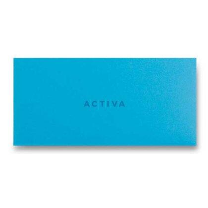 Obrázek produktu Clairefontaine - obálka - DL, samolepicí, 20 ks, modrá
