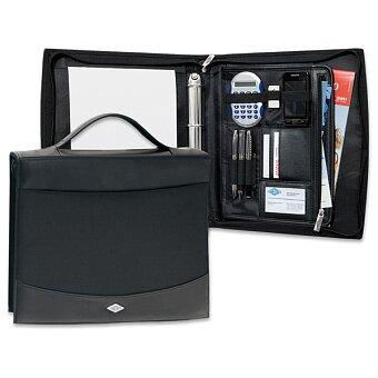 Obrázek produktu Koženkové portfolio Elegance s rukojetí - pro A4, kroužková mechanika