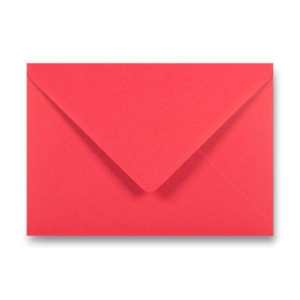Barevná obálka Clairefontaine červená, C5