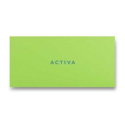 Obrázek produktu Clairefontaine - obálka - DL, samolepicí, 20 ks, tmavě zelená