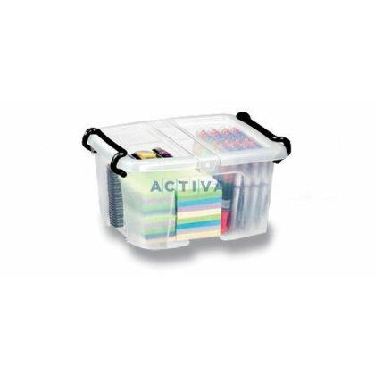 Obrázok produktu CEP Strata - úložný box s vrchnákom - objem 6 l, 224 x 305 x 182 mm