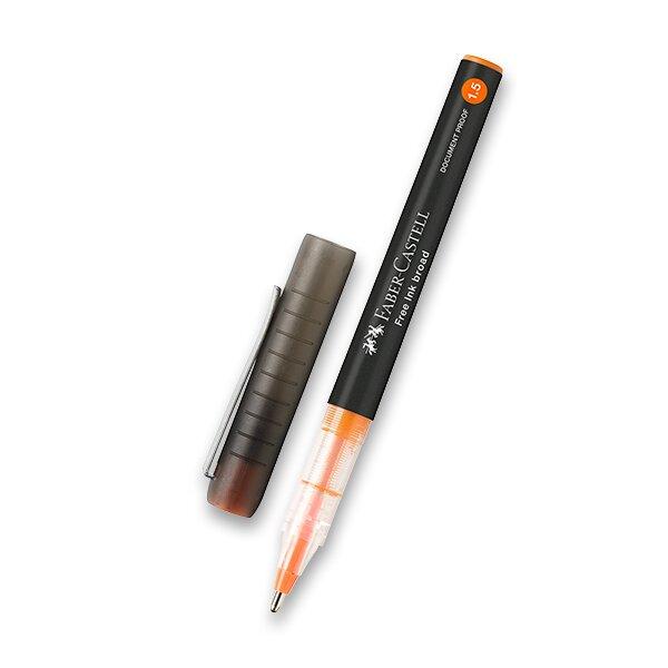 Roller Faber-Castell Free Ink 1,5 oranžový