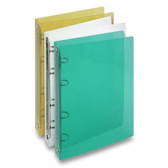Obrázek produktu 4kroužkový pořadač Transparent - A5, 25 mm, výběr barev