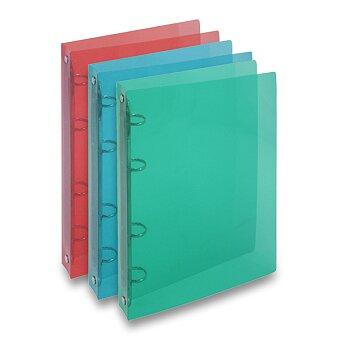 Obrázek produktu 4kroužkový pořadač Transparent - A4, 20 mm, výběr barev