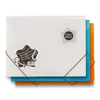 Obrázek produktu 3chlopňové desky Poly Rock - A4, výběr barev