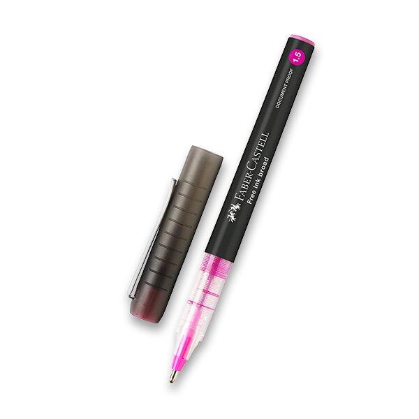 Roller Faber-Castell Free Ink 1,5 růžový