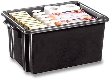 Obrázek produktu Úložný box CEP Strata - 524 x 350 x 241 mm, objem 32 l