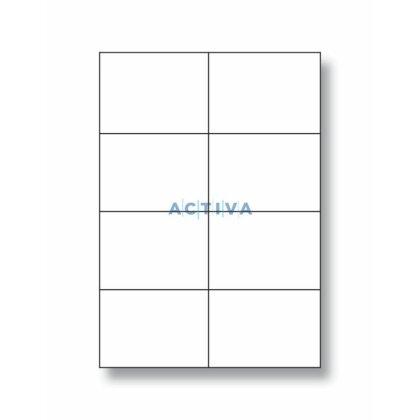 Obrázek produktu OA Print Plus - samolepicí etikety - 105 x 74 mm, 800 etiket
